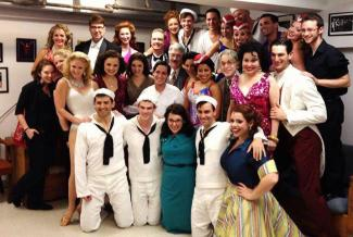 Image of On The Town Cast at WAMC