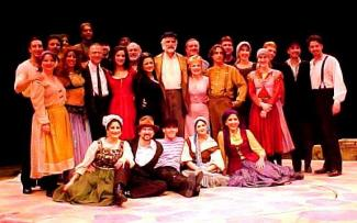 Image of cast of Zorba
